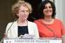 « Il est plus que temps de retrouver des pratiques respectueuses, seules capables de restaurer un dialogue social d'entreprise loyal et de confiance, à commencer par appliquer les dispositions légales en vigueur » (Photo: la nouvelle ministre du travail, Muriel Pénicaud, à gauche, succède à Myriam El Khomri, le 17 mai, à Paris).