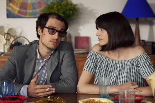 Louis Garrel et Stacy Martin dans «Le Redoutable», de Michel Hazanavicius.