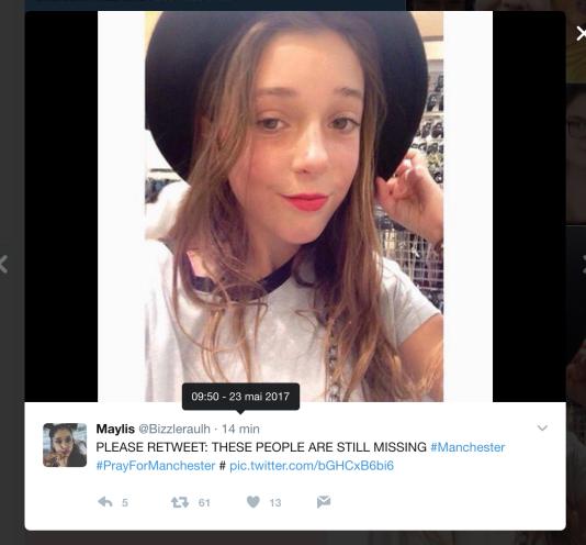 Capture d'écran de Twitter.
