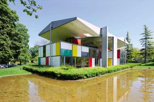 Le pavillon de Le Corbusier.