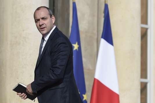 Le numéro un de la Confédération française démocratique du travail, Laurent Berger, le 23 mai, à l'Elysée.
