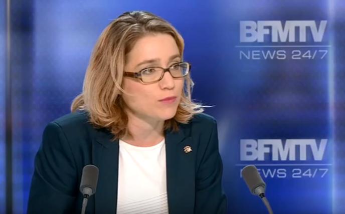 Capture d'écran d'une émission de BFMTV où était invitéeDiane Simiu, en 2014.