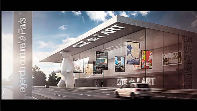 Le Français Jean-Michel Wilmotte a mêlé réalités virtuelle et augmentée pour son projet de réaménagement des vingt kilomètres séparant Paris de l'aéroport Roissy-Charles de Gaulle.