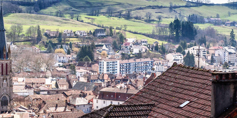 Aurillac Cantal mars 2017.