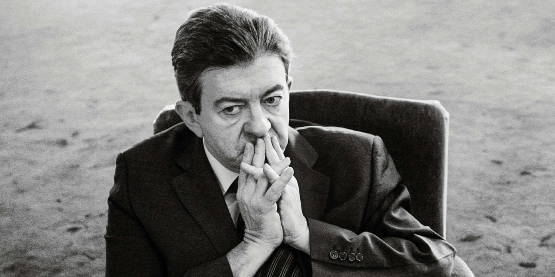 © Marlene Awaad / IP3; Paris, France le 28 janvier 2009 - ARCHIVE -Jean Luc MELENCHON au Senat.