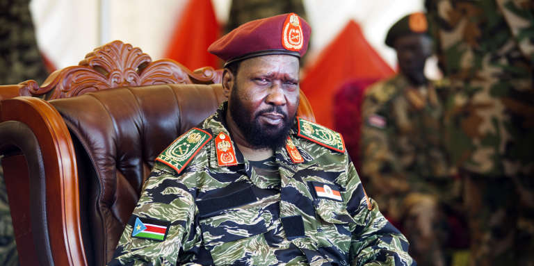 Le président sud-soudanais Salva Kiir à Juba, le 18 mai 2017.