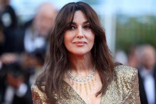L'actrice italienne Monica Bellucci est la maîtresse de cérémonie pour l'ouverture et la clôture du 70e Festival de Cannes.