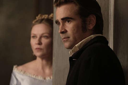 Kirsten Dunst etColin Farrelldans le film américain de Sofia Coppola, «Les Proies» («The Beguiled»).