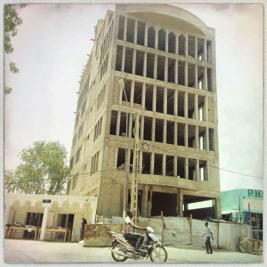 A N'Djamena, le 3 mai.