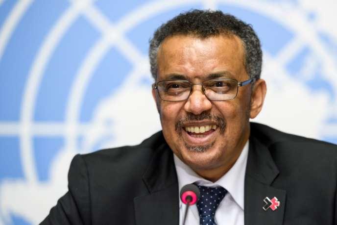 Tedros Adhanom Ghebreyesus, le 24 mai à Genève.