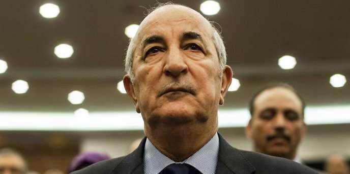 Abdelmadjid Tebboune, ici en février 2016 à Alger, a été nommé premier ministre de l'Algérie le 24mai 2017.