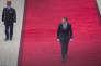 Emmanuel Macron arrive à l'Elysée, le 14 mai.