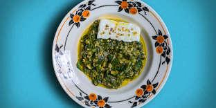 Le spanakorizo, une plat populaire grec d'une grandesimplicité.