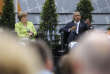 Barack Obama et Angela Merkel, jeudi 25 mai, lorsd'un débat public à Berlin sur l'état du monde.