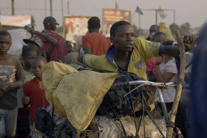 Kabwita Kasongo dans le film français d'Emmanuel Gras,« Makala».