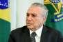 Le président brésilien, Michel Temer, le 25 mai.