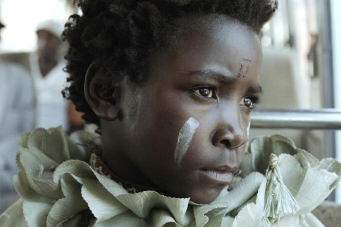 Maggie Mulubwa dans le filmzambien de Rungano Nyoni,« I Am Not a Witch».