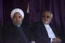 Le président iranien Hassan Rouhani (à g.) et son ministre des affaires étrangères Mohammaf Javad Zarif, le 14 mai.