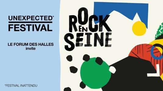 L'Unexpected Festival de Rock en Seine, du 2 au 4 juin au Forum des Halles.