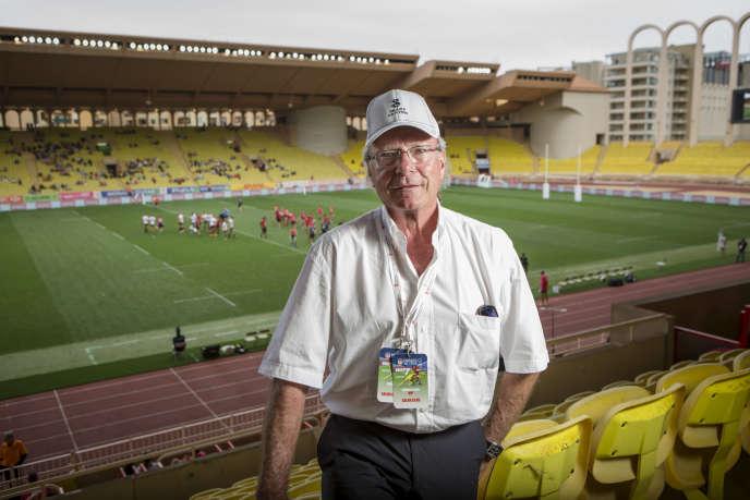 Hans-Peter Wild, au Stade Louis II, en 2016.