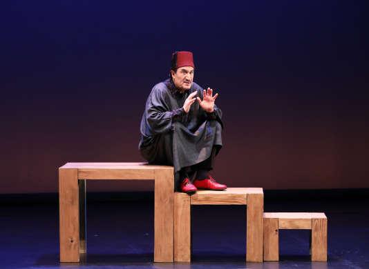Dans« Bled Runner», au Théâtre du Rond-Point, le 22février.