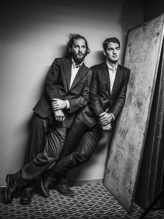 Les réalisateurs Josh et Benny Safdie à Cannes, le 25 mai 2017.