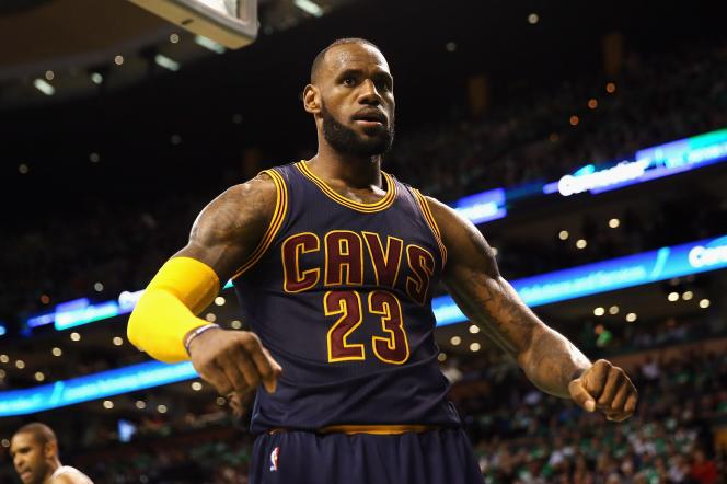 Jeudi 25 mai, l'équipe de LeBron James (Cleveland Cavaliers) affrontait les Boston Celtics.