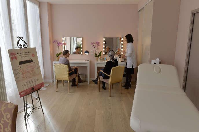 La Maison rose, association pour les femmes atteintes de cancer, à Bordeaux, le 2 mars 2016.
