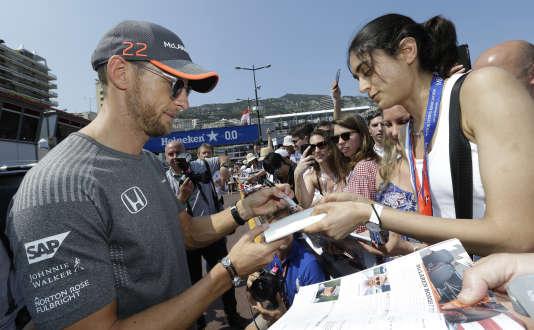 Le pilote McLaren d'un seul Grand Prix cette saison, Jenson Button, était très attendu, jeudi 25 mai lors de la première journée d'essais à Monaco.