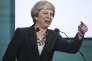 La première ministre britannique, Theresa May, le 26 mai, 2017.