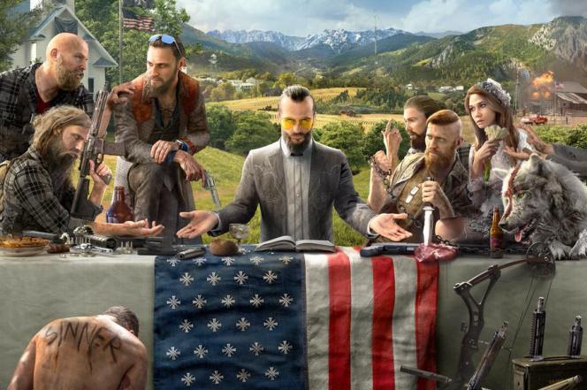 L'illustration de «Far Cry 5» a suscité l'irritation des cercles d'extrêmedroite et ravi les militants antiracisme.