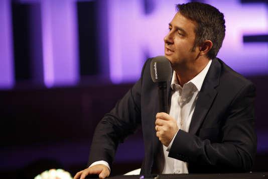 Le numéro deux de Radio France, Laurent Guimier, a annoncé qu'il quittait son poste, le 11mai 2018.