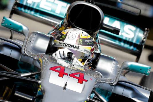 La Mercedes de Lewis Hamilton n'a fini que 7e le 28 mai à Monaco.