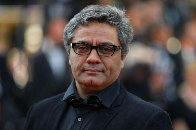 Le réalisateur iranien Mohammad Rasoulof samedi 27 mai 2017 à Cannes.