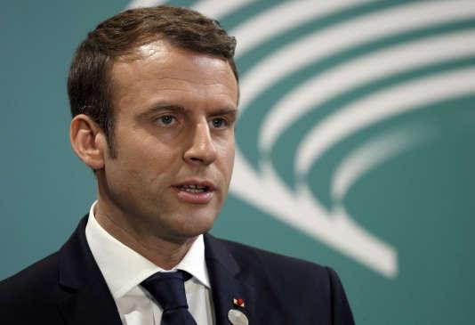 «les Français ont mérité, plus qu'ils ne le pensent, le grand pas vers leur redressement qu'ils peuvent maintenant accomplir» (Photo: Emmanuel Macron, le 27 mai, lors du G7 à Taormina, en Italie).