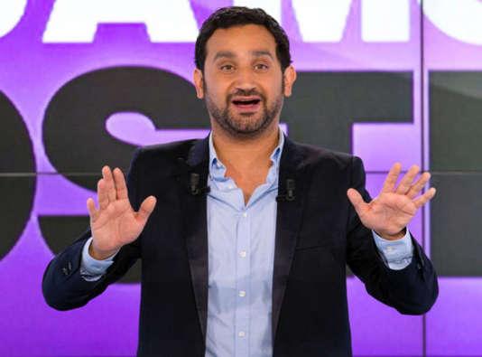 L'animateur Cyril Hanouna sur le plateau de son émission «Touche pas à mon poste».