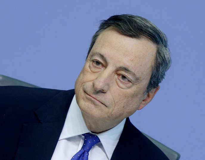 Mario Draghi, président de la Banque centrale européenne, le 27 avril.