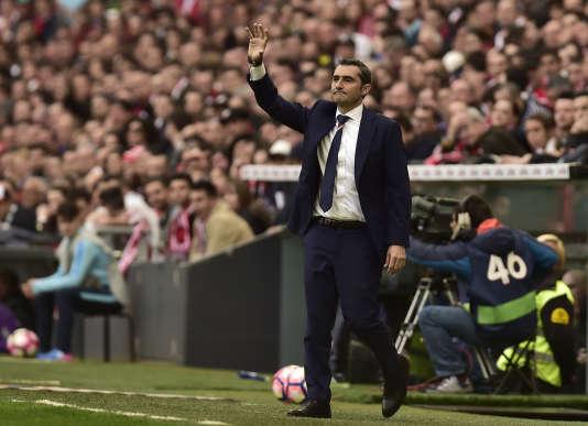 Ernesto Valverde, le 18 mars 2017.