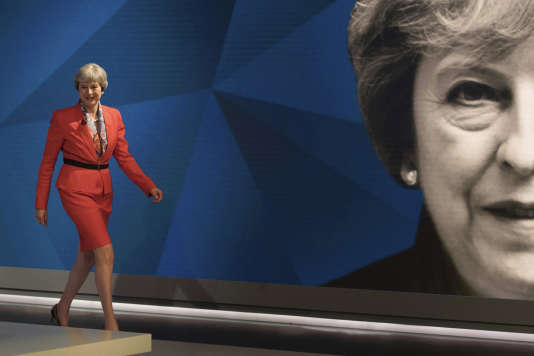 La première ministre, Theresa May, le 29 mai.