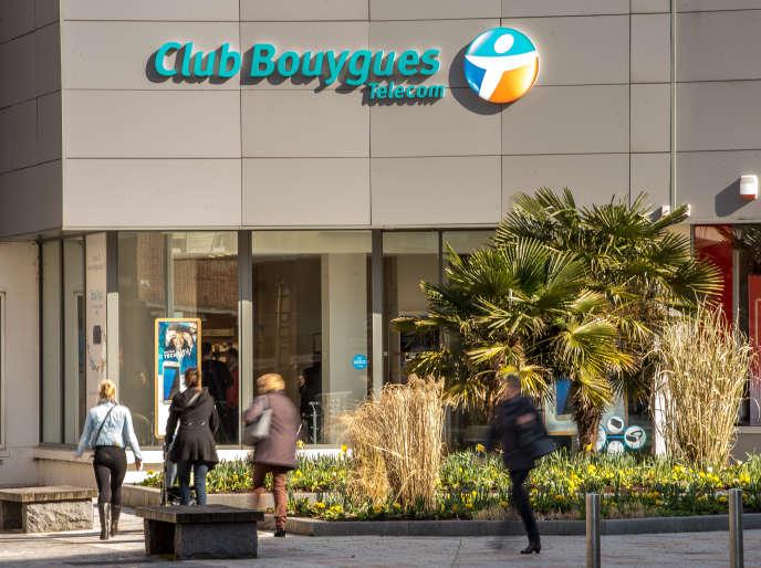 Un Club Bouygues Telecom, à Dunkerque (Nord), en avril 2016.