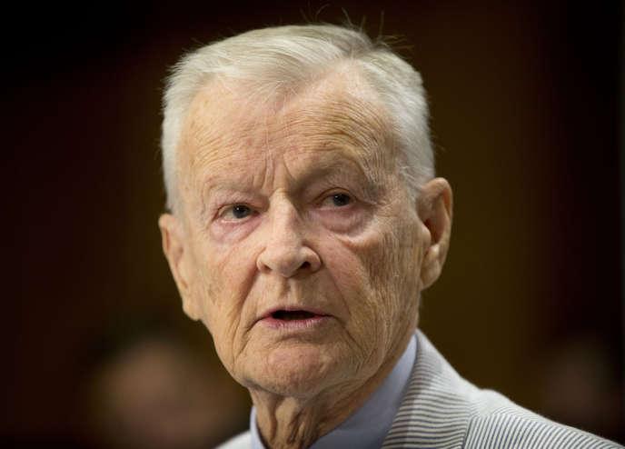 Zbigniew Brzezinski, en juillet 2014 à Washington.