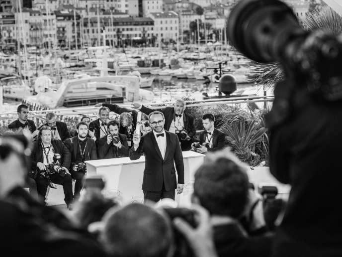 Le réalisateur russe Andreï Zviaguintsev à Cannes, le 28 mai 2017.