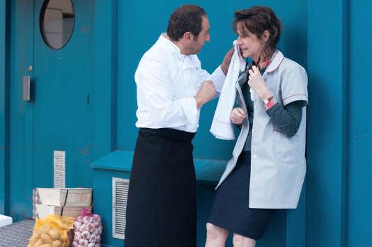 Patrick Timsit et Valérie Lemercier dans le film français de Valérie Lemercier, « Marie-Francine».