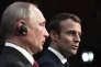 Emmanuel Macron a reçu Vladimir Poutine au château de Versailles, le 29 mai 2017.