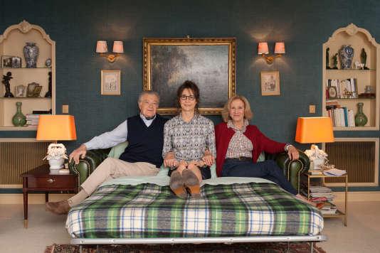 Philippe Laudenbach, Valérie Lemercier et Hélène Vincent dans le film français de Valérie Lemercier, «Marie-Francine».