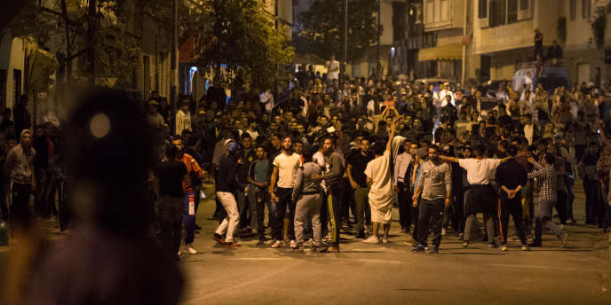 Dimanche 28 mai à Al-Hoceima, manifestation pour le développement de la région du Rif.