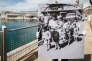 Le 26 mai 1962,sur le port de la Joliette, à Marseille. Une femme et ses enfants viennent de débarquer du «Ville-d'Oran». Au cours de cette seule année, les deux tiers des Français arrivant d'Algérie sont passés par la cité phocéenne.
