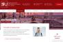 Capture d'écran du site internet de la Sigmund Freud University, dont les formations ne sont pas encore reconnues.