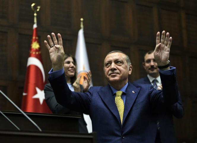 Le président turc Recep Tayyip Erdogan, le 30 mai à Ankara.