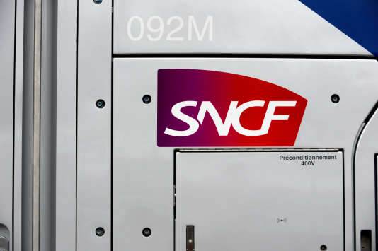 Le logo de la compagnie ferroviaire SNCF, le 17octobre 2016.